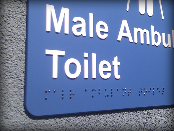 Braille and Tactile Signs