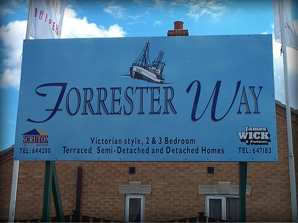 Construction Signs & Hoardings Scruton