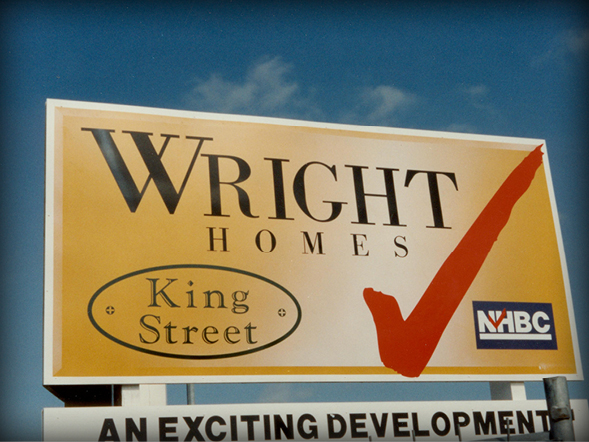 Construction Signs & Hoardings Wright Group