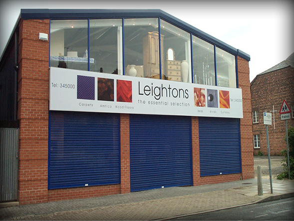 Industrial & Factory Signs Leightons Yorkshire Chain