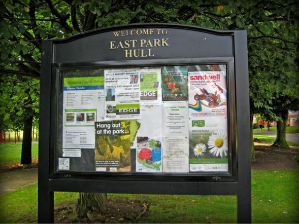 External Notice Boards