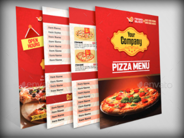 Stationery Printing Pizza Hut National