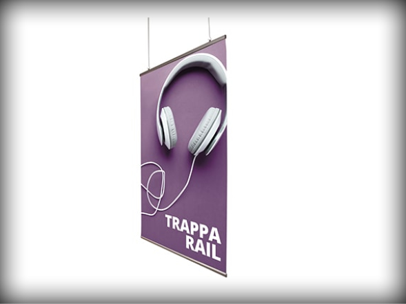Banner Support Systems Trappa Hang Banner