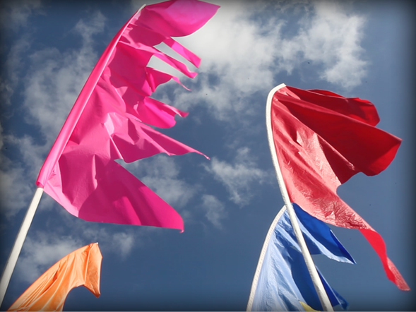 Flags and Bunting Festival Flag