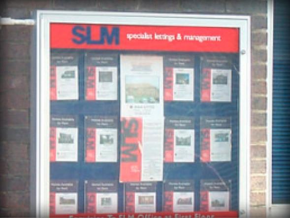 internal notice boards SLM
