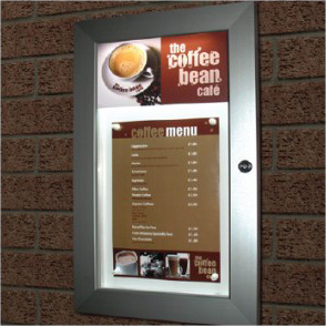 Modern Slim-line Illuminated Noticeboards